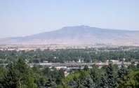La Grande View of Mt. Harris